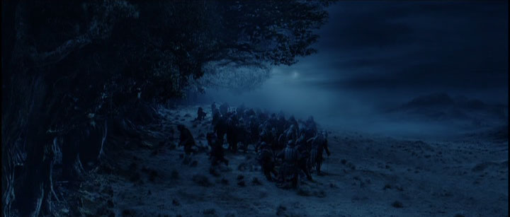 """Night camp at Fangorn forest"""
